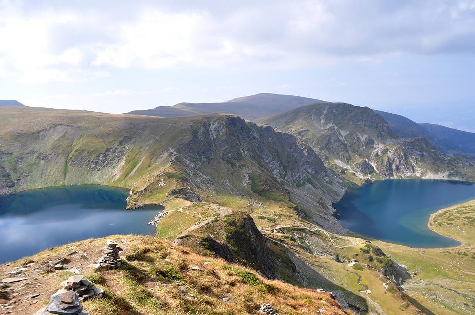 bulharsko Rila jezero